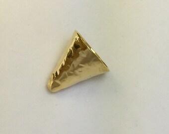 Gold Vermeil Finding Cone B88vm