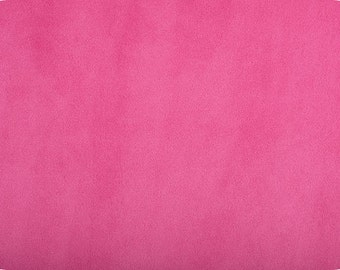 "Full Yard of Shannon Minky Smooth CUDDLE FABRIC- Fuchsia Color 36"" x 58"""