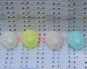 Curly Sheep Glycerin Soap Bar