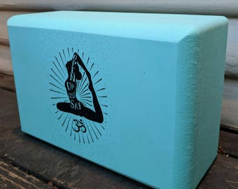 Open Up And Say Ohm Yoga Block