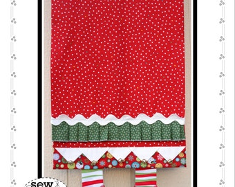 Jingle Boots Table Runner PDF Download Pattern