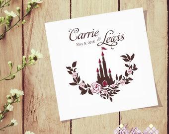 Event Monogram, Romantic Wedding Logo, Custom Monogram, Event Logo, Floral Wedding Design, Logo, Monogram Design, DIY Wedding Stationery