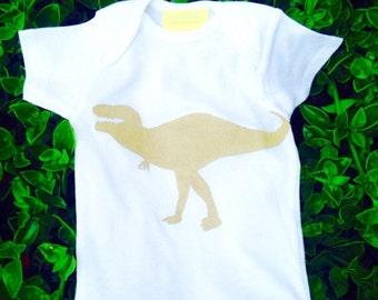 Children - Boy - Dinosaur - Dino - Rex - Toddler T-Shirt or Baby Onesie
