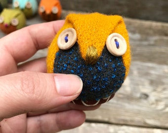 wool owl #5