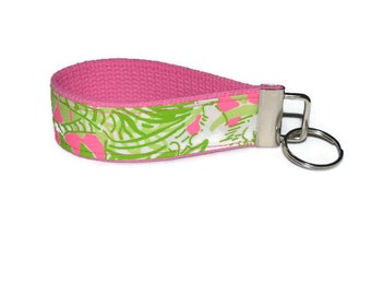 Lilly Pulitzer Key chain Wristlet