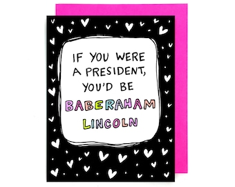 Card // Baberaham Lincoln
