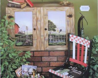 Folk Art décoratif livre «La maison pour toutes les saisons» par Debbie Toews 48 pages 1999 utilisés livre