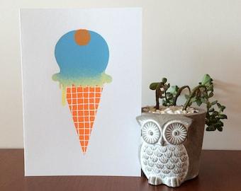 Ice Cream 6 Card