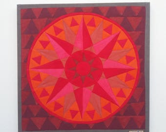 Mandala inner diamonds n.13 PASSION Spiritual healing object