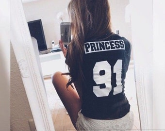 PRINCESS 91 T-SHIRT / Premium Quality ! - Made in London / Fast Delivery to the Usa , Canada , Australia & Europe !