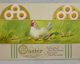 Vintage Early 20th Century Easter Post Card