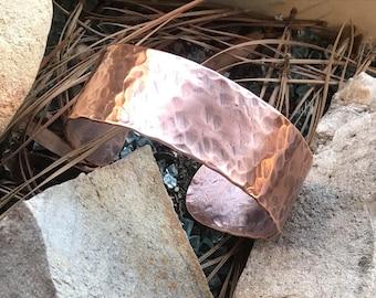 Hammered Copper Bracelet / Cuff