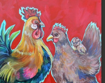 Customize a chicken family for you