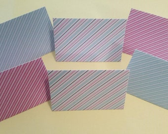 Striped Gift Card Envelopes