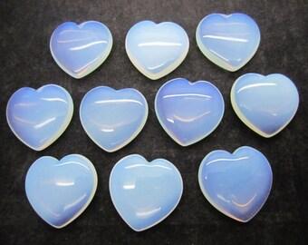 Opalite Heart (45mm) ~ FREE SHIPPING!