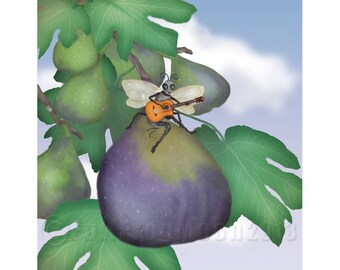 The Fig Wasp Ramble Print