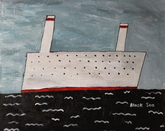 Black Sea, White ship
