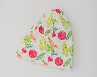 Vegetable Hat/ Toddler Hat/ Beanie/ Kids Beanie/ Slouchy Hat