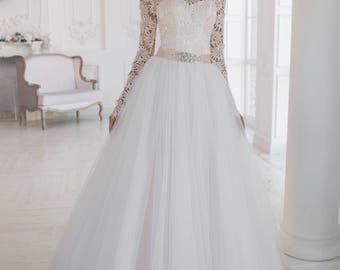 Wedding dress wedding dress bridal gown PIONIA