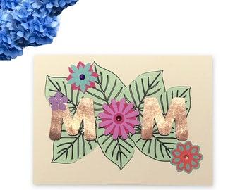 Tropical Mom Card