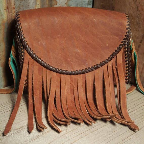 Buffalo Leather Treat Bag