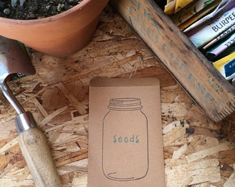 Seed packets ~ Empty ~ Ready for your seeds ~ 5 packets