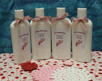 Cherry Almond Lotion, Hand Lotion, Body Lotion, Cherry Almond, Cherry Scent, Almond Scent, Lotion, Birthday Gift, Easter Gift, Valentines