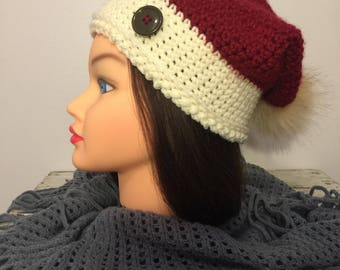 Crochet womans hat