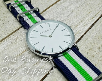 Fathers Day, Men's Watch, Silver Watch, Women's Watch, Gifts For Him, Birthday Gift, Anniversary Gift, Wedding Gift, Groomsman Gift, For Her