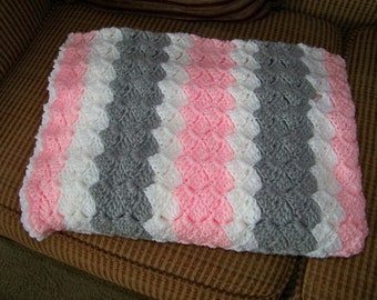 Baby Shell Afghan
