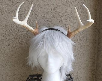 NEW ARRIVAL! Realistic Christmas Doe / Deer Antlers Horns  3D Printed (Ultra Light Weight Plastic) Reindeer Antlers comic-con