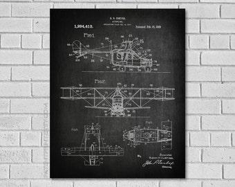 Airplane Decor - Aircraft Decor - Plane Decor - Airplane Art - Airplane Print - Airplane Blueprint - Aviation Decor - Airplane Art VA413
