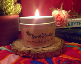 Beach Reading candle