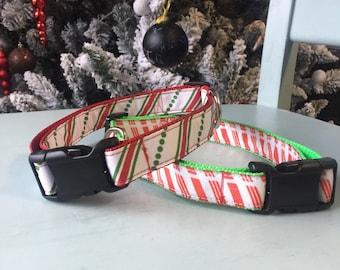 Handmade Flat buckle dog collar
