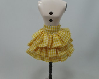 Handmade outfit for Blythe doll layers scotch skirt - 20