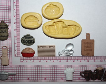 Kitchen Silicone Mold Candy Chocolate Fondant Resin Soap Mold Food Safe Mold