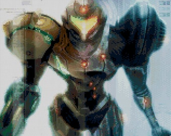 Metroid Echoes Cross Stitch Pattern