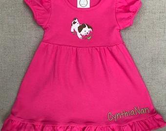The Poky Little Puppy Dress, Poky Puppy Dress, Toddler Puppy Dog Dress
