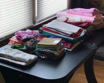 Fabric and fabric scraps