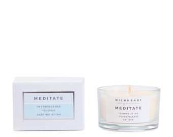 Soy Aromatherapy Candle -  Meditate travel candle