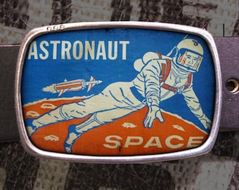Vintage Space Astronaut Belt Buckle S01, Gift for Him, Gift for Her, Husband  Gift, Wife  Gift Groomsmen Wedding