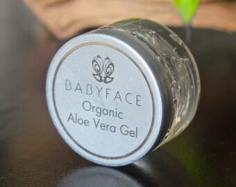 Babyface  Pure Organic Aloe Vera Gel for Skin & Hair, 5 oz