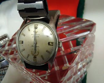 Vintage rare wittnauer 17 j automatic mens watch