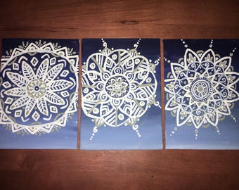 Three Piece Mandala