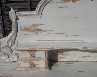 Distressed pine dresser