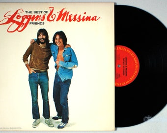 Loggins and Messina - The Best of Friends (1976) Vinyl LP  Greatest Hits &