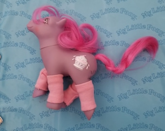 Vintage My little pony G1 sundae best sherbet