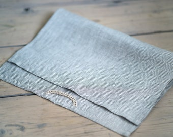 Soft pure linen face towels. Natural linen towels. Gym towels. Travel towels.