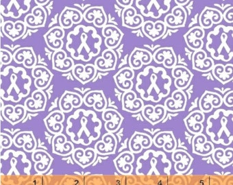 SALE - Project Pink - Purple Medallion by Rosemarie Lavin from Windham Fabrics