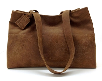 Sale!!! Large brown leather tote bag leather handbag Brown women's tote bag Carry all bag leather bag Everyday bag!!!!